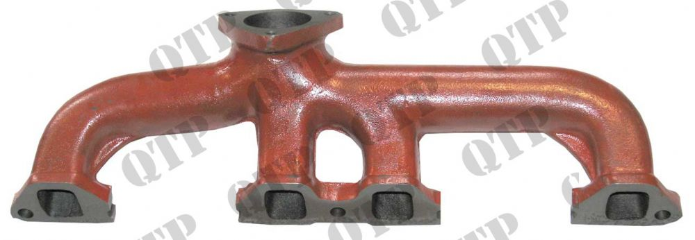 Exhaust Manifold Ford Major - In Line Holes